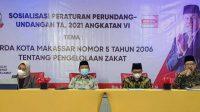 Legislator DPRD Makassar Hadirkan Ketua Baznas Sosialisasi Perda Zakat