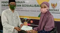 Baznas Makassar Tuntaskan Penyaluran Zakat 15 Kecamatan