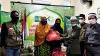 LAZIS NU Makassar Salurkan Zakat Umat