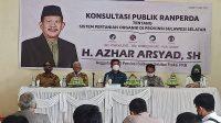 Azhar Arsyad Harap Ranperda Sistem Pertanian Organik Melindungi Petani