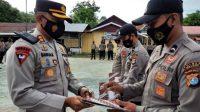 Kapolres Majene Berikan Reward Bagi Personel Yang Berprestasi