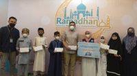 Bank Syariah Indonesia Region XI Makassar Bagi THR ke Anak Yatim