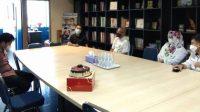 Wakil Rektor V UMI dan Kepala Humas Kunjungi Upeks