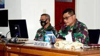Taklimat Awal Wasrik Itjenal Tahun 2021 Tandai Dimulainya Audit Kinerja di Lantamal VI Makassar