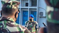 Sehari Jelang Penyerahan Jabatan, Danpomal Lantamal VI Berpamitan