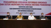 Kemenpan-RB Dampingi Evaluasi Sakip dan RB Pemkab Lutim