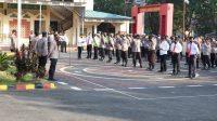 Jelang HUT Bhayangkara Ke-75, Kapolres Takalar Ajak Personel Berperan Aktif Jaga Kamtibmas