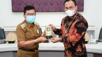 Kepala Kanwil Ditjen Perbendaharaan Sulsel Silaturahmi ke Walikota Palopo