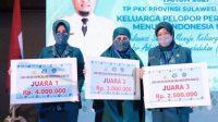 PKKGowa Raih Juara Pertama Turunkan Angka Stunting Tingkat Sulsel