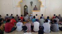Kapolsek Bissappu Safari Jumat di Masjid Babul Uman