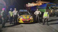 Polres Pelabuhan Makassar dan Polsek Jajaran Gencar Patroli Malam