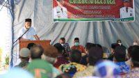 Saat Silaturahmi dengan Masyarakat, Bupati Lutim Harap Bantuan Keuangan Dioptimalkan Bagi Pembangunan Desa