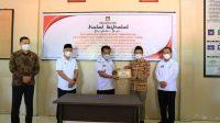 Hadiri Halalbihalal KPUD, Bupati Budiman Apresiasi Pelaksanaan Pilkades Serentak