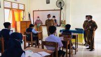 Pastikan PTM Berjalan Lancar, Kadisdik Lutim Pantau Sejumlah Sekolah