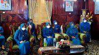 Ketua TP- PKK Selayar Ikuti Pelantikan Pengurus PKK Pusat Secara Virtual