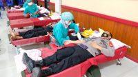 Peringati HUT Bhayangkara Ke 75, Polres Gowa Gelar Donor Darah