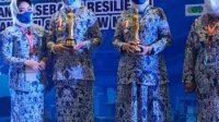 Ketua Umum DPD IWAPI Sulsel Ainun Jariah Dinobatkan Sebagai Juara 1 Perempuan Pengusaha Berprestasi Tingkat Nasional