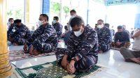 Jelang Latihan Armada Jaya XXXIX Tahun 2021, Lantamal VI Laksanakan Doa Bersama