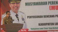 Sekda Lutim Buka Musrenbang RPJMD Periode 2021-2026