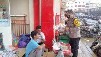Bhabinkamtibmas Ende Pantau Penerapan Protkes Makassar Malll