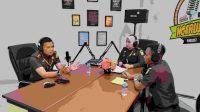 "Menuju WBBM, Kejari Jeneponto Launching Podcast ""Ngerujak"""