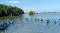 Polres Pangkep Tanam 2000 Mangrove di Kampung Pesisir Nelayan