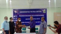 Jalin Kerja Sama, Universitas Patria Artha dan Akademi Keuangan Perbankan Widya Buana Teken MoU