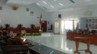 Pokja Transisi DPRD Majene Raker dengan Tim Transisi Penanganan Gempa Majene