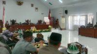 DPRD Majene Rapat Paripurna Pembentukan Pansus Ranperda