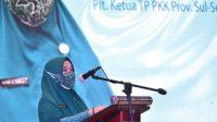Peringati HKG Ke-49, Plt Ketua Tim Penggerak PKK Sulsel, Naoemi Octarina LaunchingKISAK