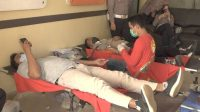 HUT -ke 75 Bhayangkara, Polres Pangkep Gelar Donor Darah