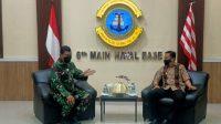 Bupati Basli Ali Temui Danlantamal VI, Selayar Akan Miliki Pangkalan TNI AL