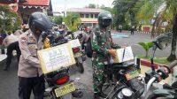 Polres Pangkep Bagikan 250 Paket Bansos untuk Warga Terdampak Covid-19