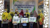 Ikatan Istri Karyawan Pegadaian Salurkan Bantuan Pendidikan