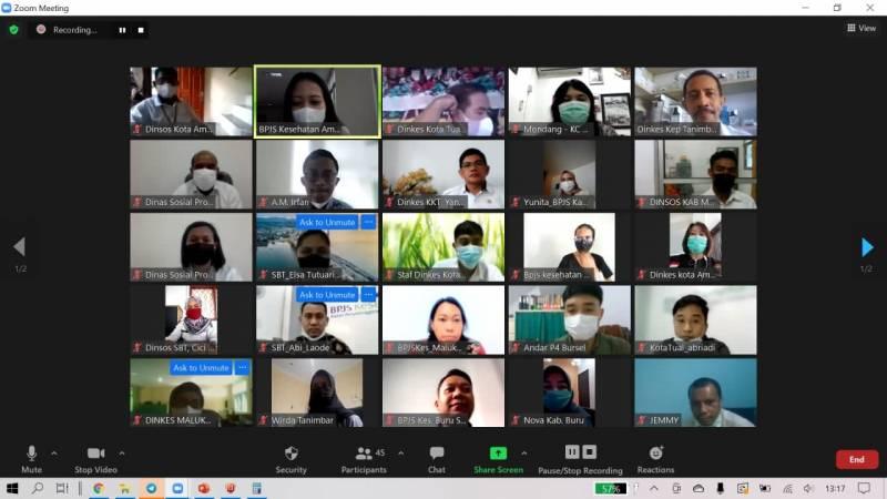 Optimalkan Aplikasi e-Dabu PD Pemda, BPJS Kesehatan Ambon Gelar Sosialisasi