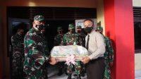 Beri Kejutan di Hari Bhayangkara ke-75, TNI Bone 'Serbu' Markas Brimob