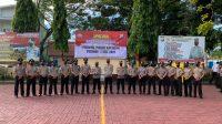 Selamat, 23 Personel Polres Bantaeng Naik Pangkat
