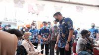 Vaksinasi Covid-19 Massal di Gowa Melebihi Target, 2.045 Orang Sudah Divaksin