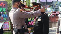 Pengalungan Selendang Bentuk Penghormatan ke Personel Purna Bhakti Polri