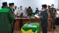 Wabup Saiful Arif Lantik Dirut Perusda Berdikari Selayar, Ini Harapannya
