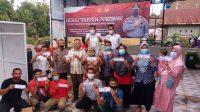 Polres Kerja Sama Jamaah Majelis Zikir dan Puskesmas Kota Bantaeng Gelar Vaksin Massal Gratis