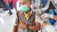 Masyarakat Sangat Antusias, Vaksinasi Massal di Pallangga Melebihi Target