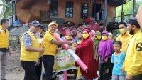 Partai Golkar Jeneponto Salurkan Bantuan Bagi Korban Banjir di Tarowang