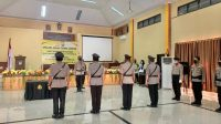 Kapolres Bantaeng Pimpin Sertijab Kasat Reskrim dan Kapolsek Tompobulu