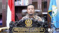 Plt Gubernur Sulsel Buka MPLS SMA Sederajat Secara Virtual