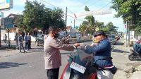Cegah Penyebaran Covid-19, Anggota Polsek Galut Laksanakan Ops Yustisi
