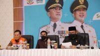 Bupati Bantaeng Bersama Forkopimda Hadiri Launching Sulsel Kebut Vaksinasi
