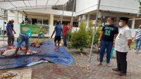 Kakanwil Kemenag Sulsel Pantau Penyembelihan Hewan Kurban di Kota Makassar
