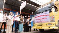 Bupati Bantaeng Lepas Penyaluran Bantuan Beras PPKM
