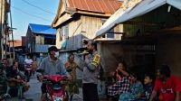 Bhabinkamtibmas Cambayya Menyelusuri Lorong Imbau Protkes ke Warganya